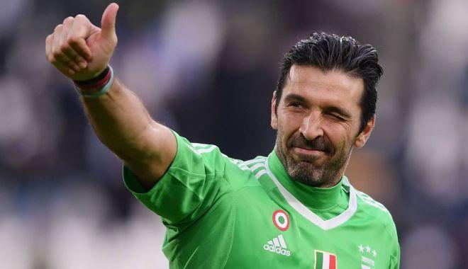 Foto: Legendarul Buffon refuză să se retragă. Goalkeeper-ul are 41 de ani