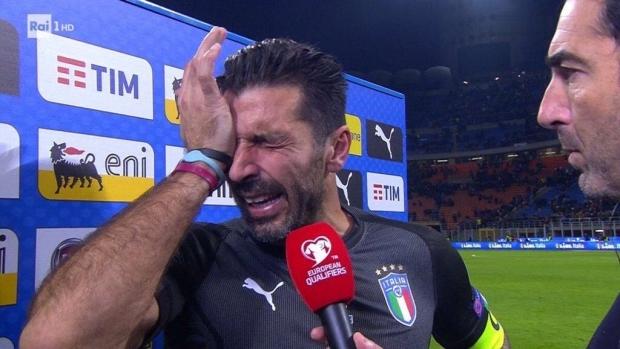 Foto: Buffon și-a anunțat retragerea din naționala Italiei. Finalul trist al unei cariere de legendă