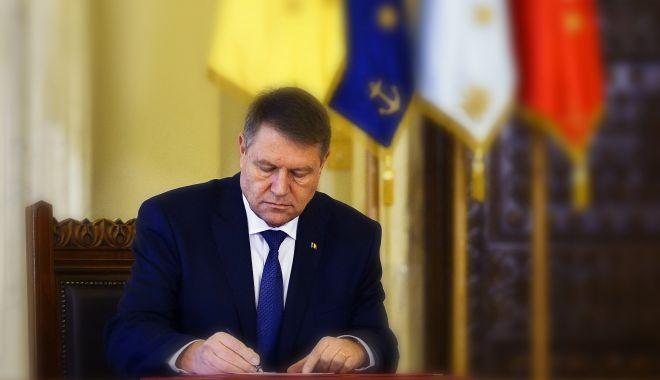 Foto: Legea proiectului bugetului de stat pe 2020, promulgată de președintele Iohannis