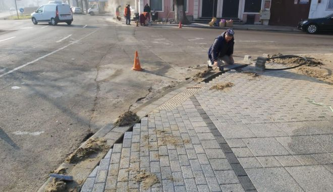 Foto: Continuă procesul de modernizare și reabilitare pe bulevardul Mamaia