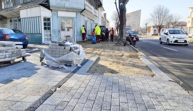 Trotuarele de pe Bulevardul Mamaia, reabilitate de Confort Urban - bulevardulmamaia-1581373847.jpg