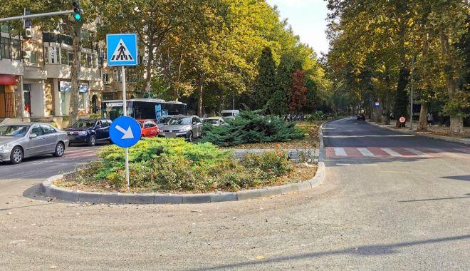 Bulevardul Mamaia este asfaltat. Ce restricții de trafic rutier se vor impune în zonă - bulevardulmamaia2-1631775081.jpg
