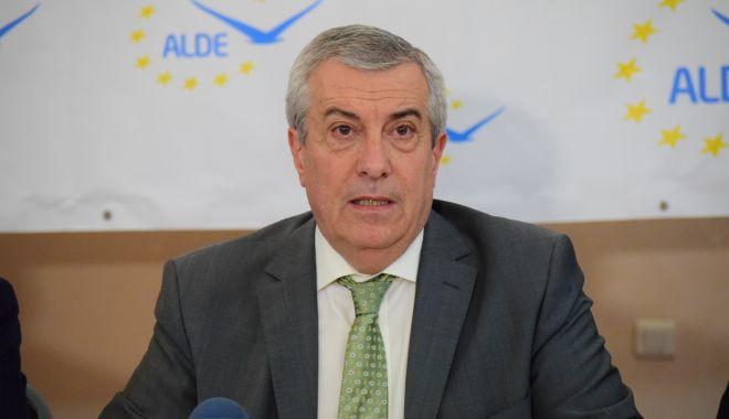 """Foto: Călin Popescu-Tăriceanu: """"ALDE susține alegerea primarilor în două tururi"""""""