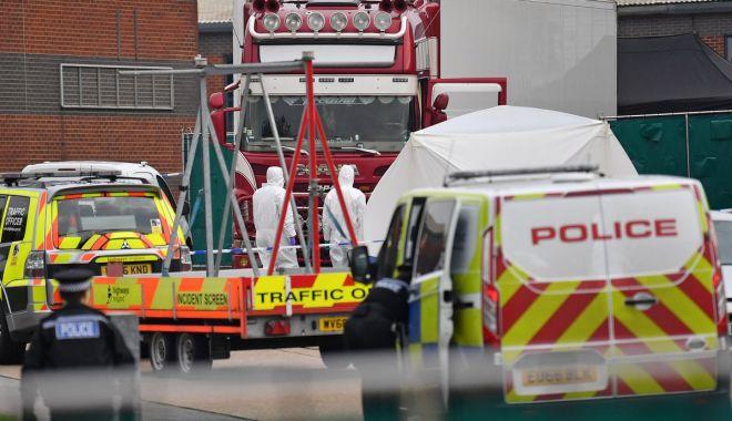CAMIONUL GROAZEI! 39 de morți, în apropiere de Londra. Filieră bulgară? - camion-1571831358.jpg