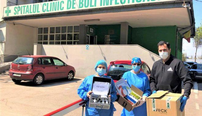 """Foto: Universitatea """"Ovidius"""" vine în ajutorul spitalelor din județ"""