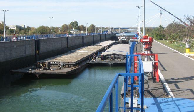Foto: Canalul Dunăre - Marea Neagră a împlinit 36 de ani de la intrarea în exploatare