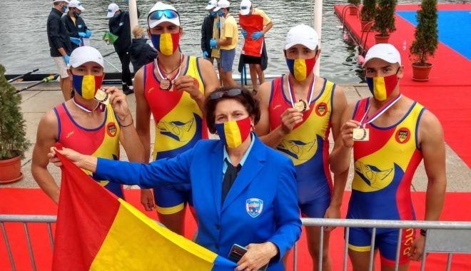 Foto: Canotaj / Tricolorii - şapte medalii la Europenele de juniori