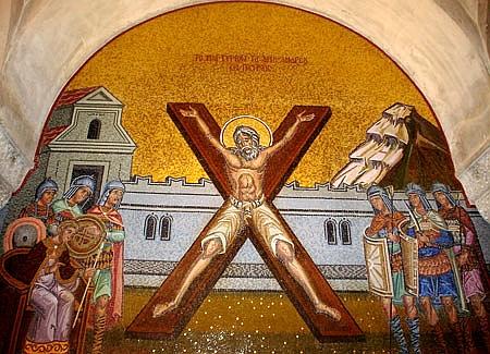 Foto: Capul Sfântului Apostol Andrei, pentru a doua oară în România