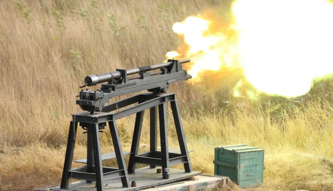 Muniția pentru tunurile Armatei, testată în poligonul de la Capu Midia - capumidiatrageri-1602693821.jpg