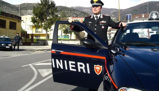 Foto: Român care transporta dispozitive explozive pentru spargerea bancomatelor, arestat în Italia