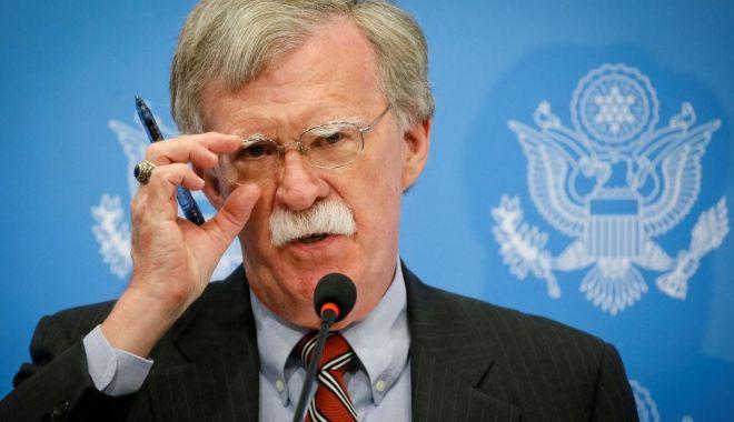 Foto: Casa Albă îi interzice lui John Bolton să publice informații confidențiale în cartea sa