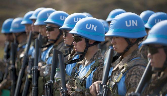 """Foto: """"Căștile Albastre"""", forțele care servesc sub drapelul Națiunilor Unite"""