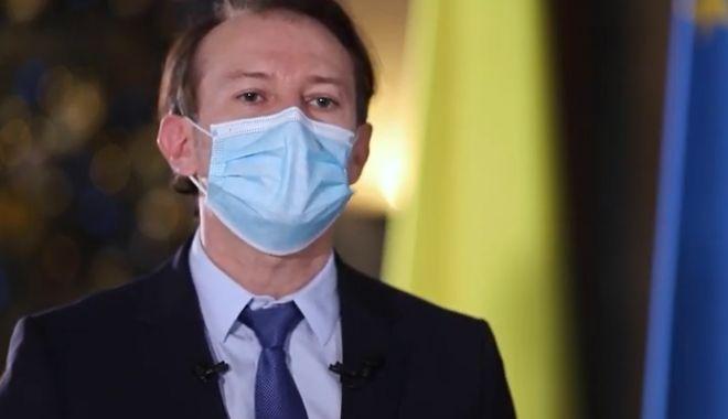 Premierul Florin Cîțu se vaccinează anti-Covid, la ora 12.00 - catu-1610786225.jpg