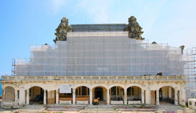 Foto: Arhitectul  Radu Cornescu, noi precizări despre lucrările la Cazinoul din Constanța