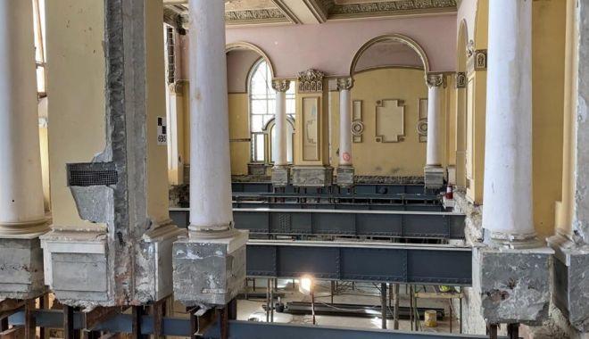 Avansează lucrările de restaurare la Cazinoul din Constanța - cazino4-1600178517.jpg