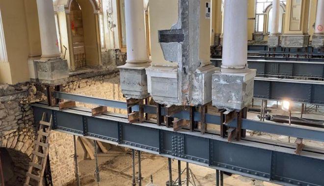 Avansează lucrările de restaurare la Cazinoul din Constanța - cazino5-1600178523.jpg