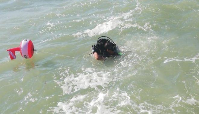 Foto: Alertă la Neptun. Salvatorii caută un bărbat dispărut în mare