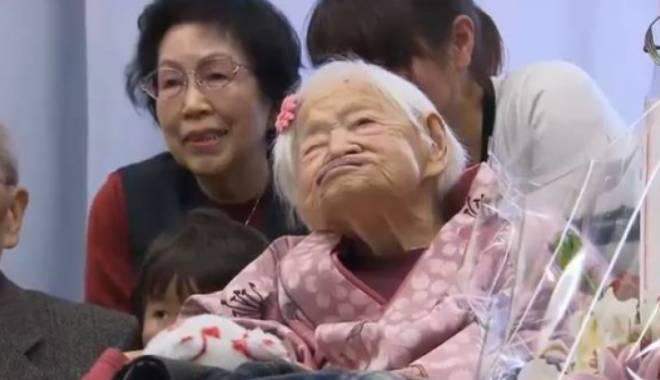 Foto: A murit cea mai bătrână femeie din lume