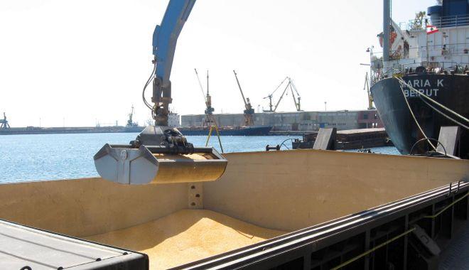 Foto: Cerealele și îngrășămintele susțin creșterea traficului de mărfuri din portul Constanța