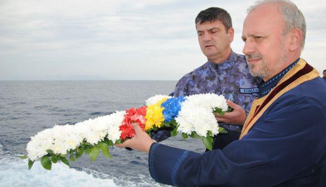 Ceremonie emoționantă la bordul Fregatei