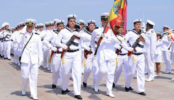 Foto: Ceremoniile dedicate Zilei Marinei Române, restrânse anul acesta, din cauza pandemiei
