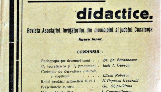 """Foto: Ce subiecte trata revista """"Convorbiri Didactice""""  în anul 1937"""