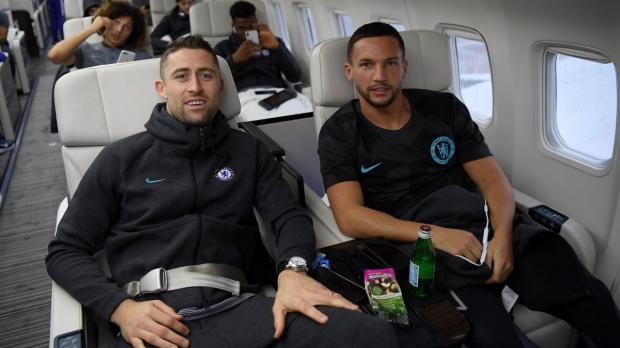 Foto: Panică în avionul lui Chelsea. Aeronava a avut probleme la aterizarea la Londra
