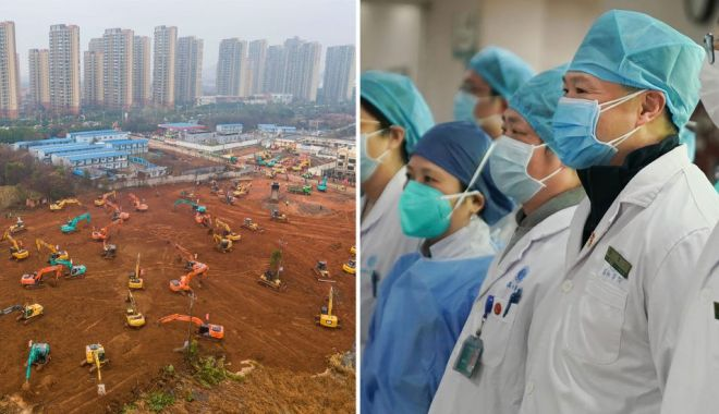 Wuhan construiește un al doilea spital din cauza coronavirusului. Lucrările la primul deja au început și se vor încheia în 3 februarie, iar următorul va fi gata în 15 zile - china-1579959293.jpg