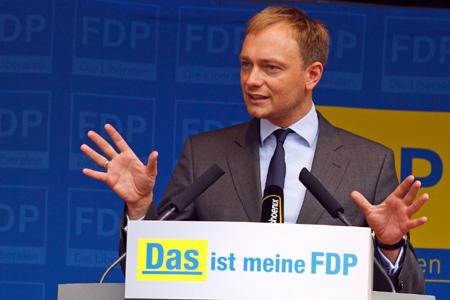 Foto: Christian Lindner, noul lider  al liberalilor germani