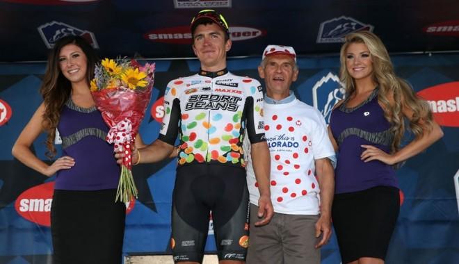Foto: Ciclism: Românul Tvetcov a ocupat locul 3 în Turul Colorado - USA Pro Challenge