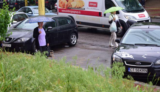 Foto: Cinci zile de nori și ploi, la Constanța