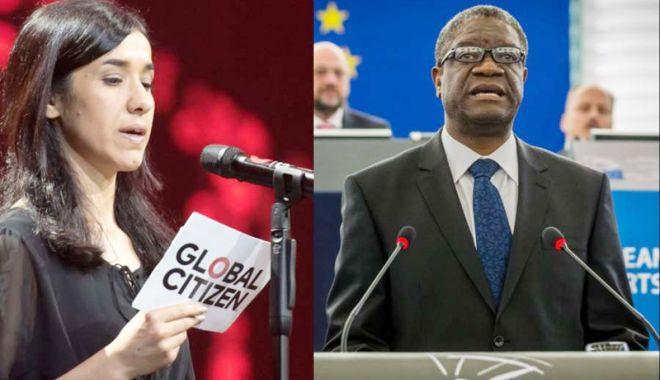 Foto: Cine sunt câștigătorii premiului Nobel pentru Pace