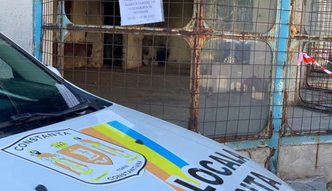 O clădire abandonată din oraș va fi demolată - cladire2-1596460771.jpg
