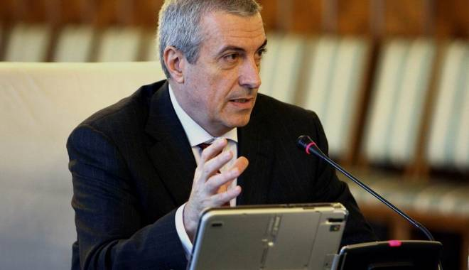 Foto: Ce spune Tăriceanu despre funcția de la Senat