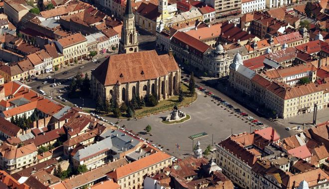 """Foto: Cluj-Napoca candidează la titlul de """"Capitala europeană a inovării 2020"""""""