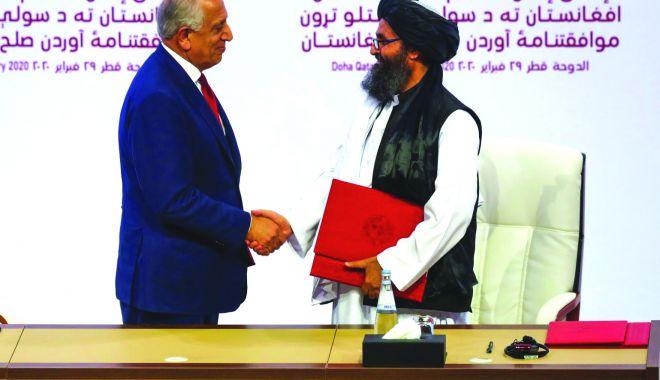 Foto: Se retrag din Afganistan! SUA și talibanii au semnat un acord istoric