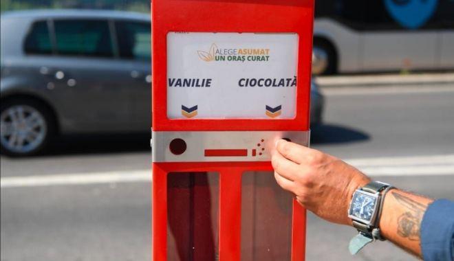Colectare selectivă a mucurilor de ţigară, la Constanţa. 200 de scrumiere speciale, în staţiile de autobuz - colectareselectiva1-1600697808.jpg