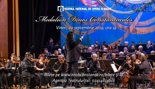 "Foto: Concert simfonic ""Medalion – Dinos Constantinides"", la Teatrul ""Oleg Danovski"""