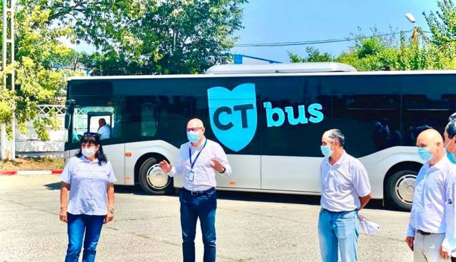 Foto: Posturile de șofer pe autobuzele CT BUS, din ce în ce mai atractive!