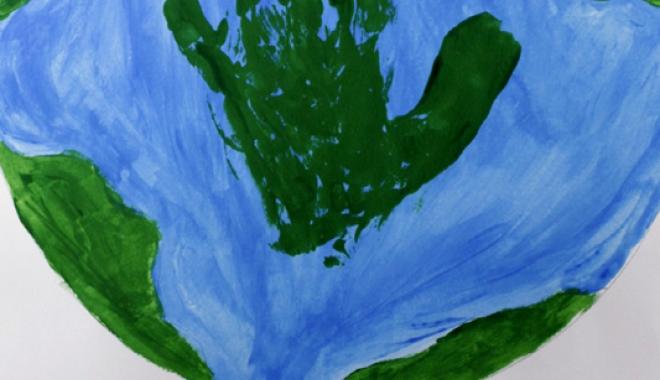 """Foto: Concursul județean de geografie """"Pământul - planeta vieții"""""""