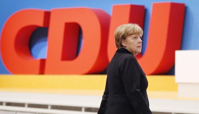 Foto: Conservatorii Angelei Merkel obțin cel mai scăzut sprijin în ultimii  6 ani
