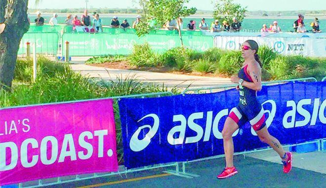 Foto: Constănțeanca Antoanela Manac, un nou record național la triatlon