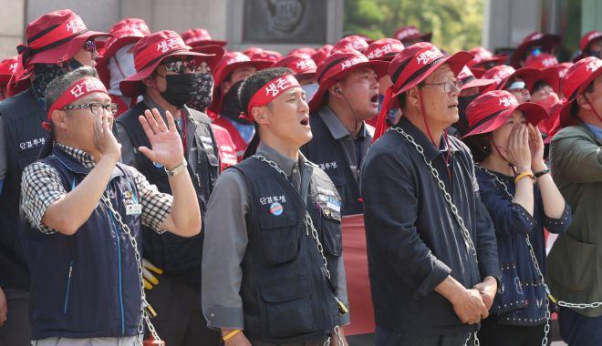 Constructorii de nave de la Hyundai Heavy Industries intră în grevă - constructoriidenavedelahyundaihe-1563543070.jpg