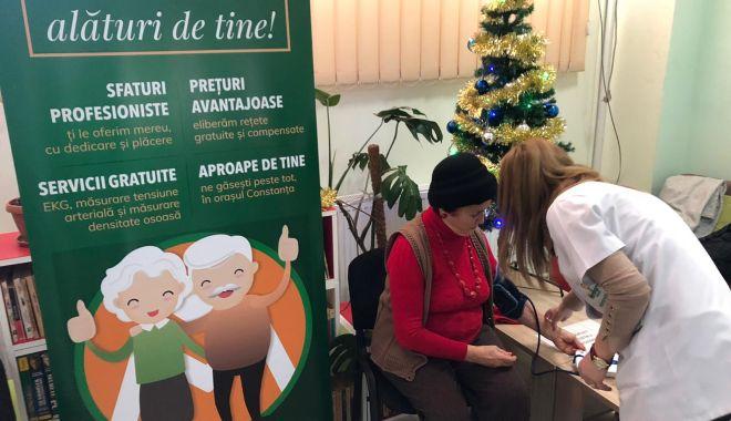 Foto: Consultații medicale suplimentare pentru vârstnicii constănțeni