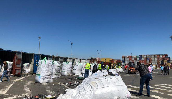 De ce este aleasă România ca destinație pentru gunoaiele din întreaga lume - containeredeseurialtele4-1620917103.jpg