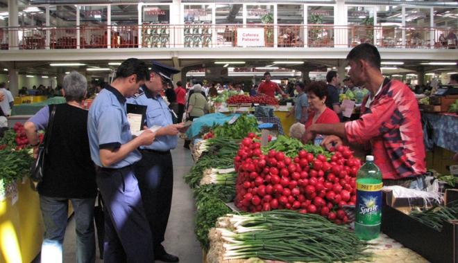 Foto: Controale OPC și DSVSA, cu sprijinul polițiștilor constănțeni