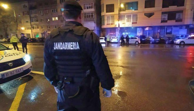 Foto: Zeci de constănțeni amendați pentru că au ieșit noaptea pe stradă