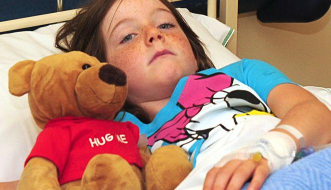 Foto: Jale în spital! Copiii bolnavi, internați și câte doi în pat