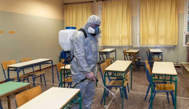 Mai mulţi elevi din Constanţa, confirmaţi cu coronavirus. Şcolile îşi schimbă programul - coronavirusclassroom-1600695707.jpg