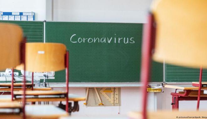 Scenariu roşu în mai multe şcoli din judeţ. Cursurile, mutate în online - coronavirusscoala33-1614707170.jpg